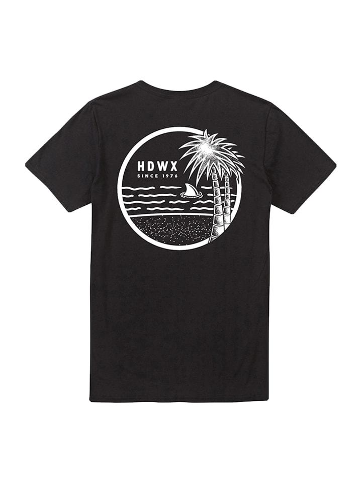 """Headworx Shirt """"Palm Tree"""" in Schwarz"""