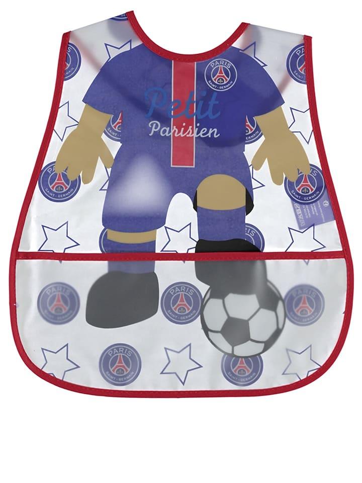 """Paris Saint-Germain Bavoir """"PSG"""" - bleu/rouge - 28 x 38 cm"""