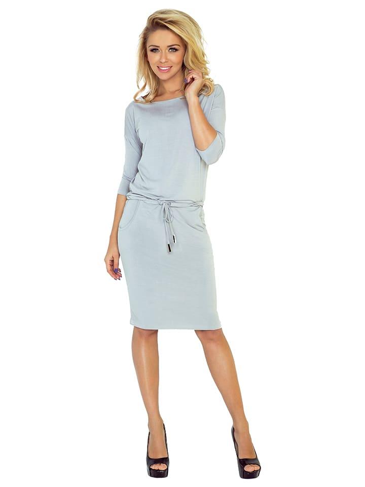 Numoco Kleid in Grau