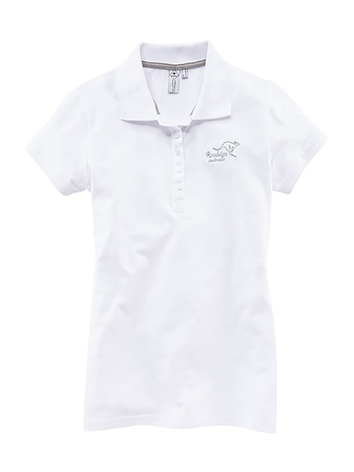 Roadsign Poloshirt in Weiß