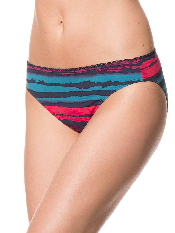 "ESPRIT Bikini-Slip ""Aroca Beach"" in Petrol/ Fuchsia"