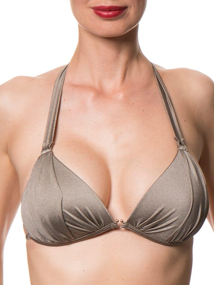 """ESPRIT Bikini-Oberteil """"Colina Beach"""" in Silber"""