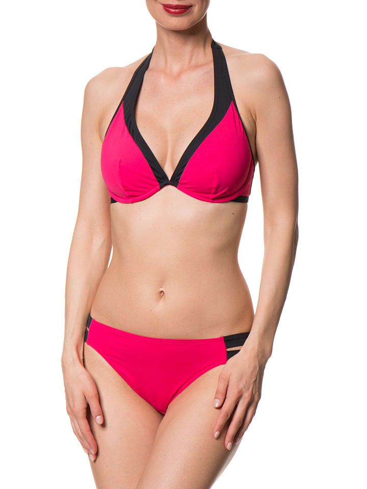"""ESPRIT Bikini-Slip """"Selma Beach"""" in Pink/ Schwarz"""