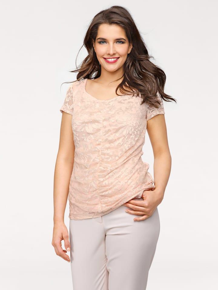 Ashley brooke by heine Shirt in Rosé