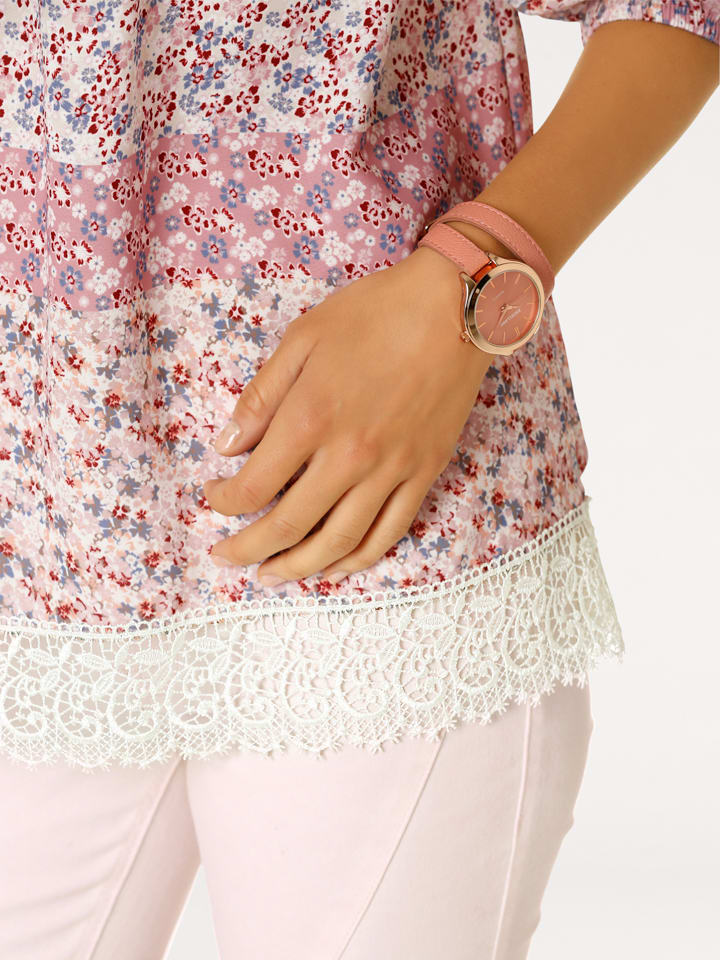 Linea TESINI by heine Shirt in Rosa