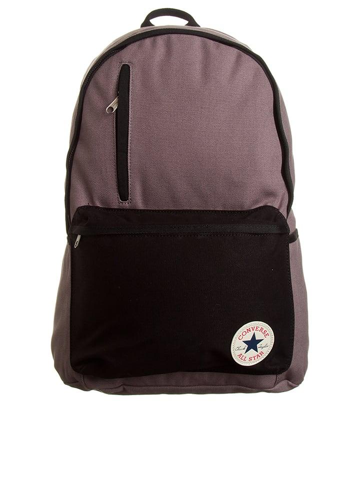 Converse Plecak w kolorze szarobrązowo-czarnym - 27 x 44 x 13 cm