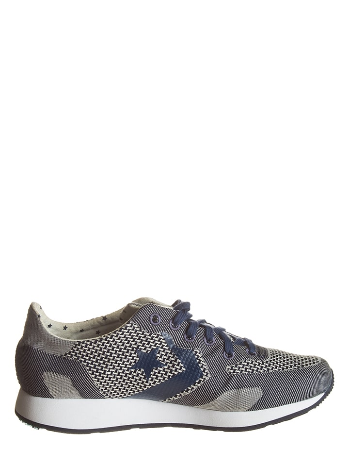"""Converse Sneakers """"Auckland Racer"""" in  Dunkelblau/ Creme"""
