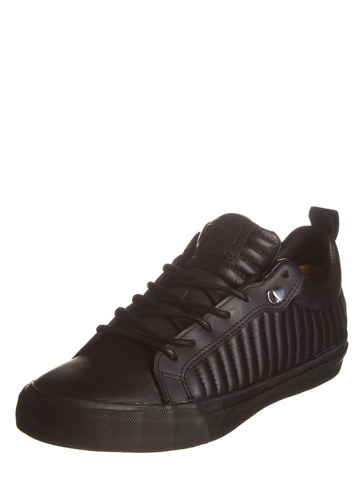 Converse Leder-Sneakers AS Fulton in Schwarz