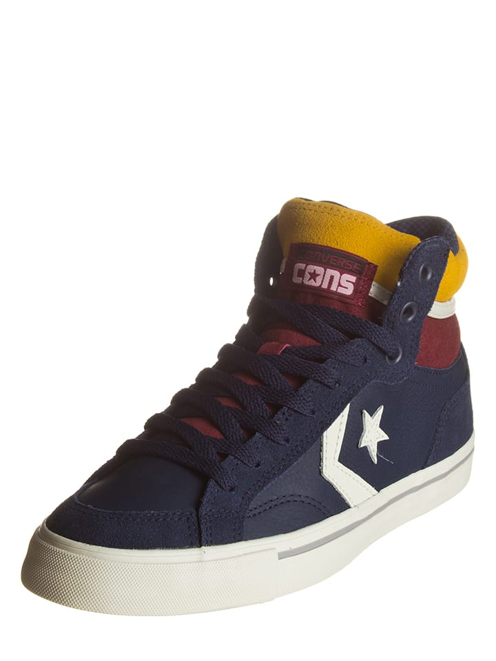 """Converse Leder-Sneakers """"Pro Blaze"""" in Dunkelblau"""