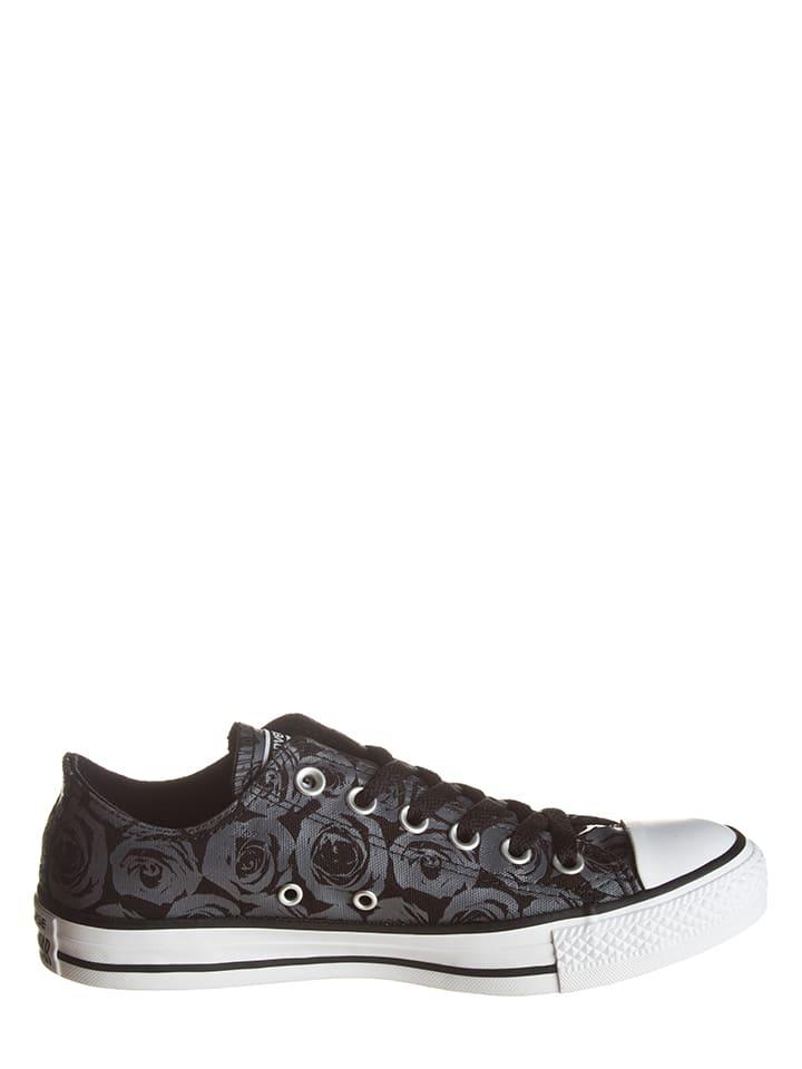 "Converse Sneakers ""Ox"" in Schwarz/ Grau"