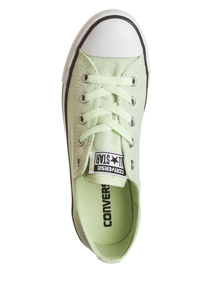 """Converse Sneakers """"Ctas Dainty"""" in Hellgrün"""