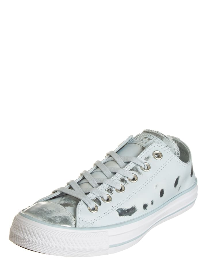 "Converse Leder-Sneakers ""Ctas Brush"" in Hellbllau"