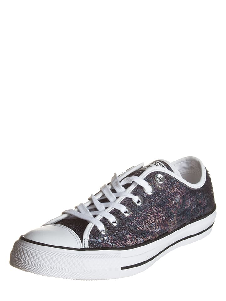 "Converse Sneakers ""Cas Ox"" in Silber"