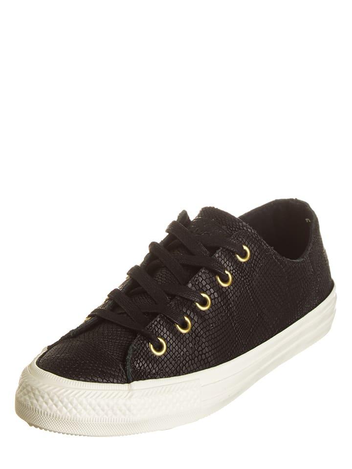 "Converse Leder-Sneakers ""Ctas Gemma"" in Schwarz"