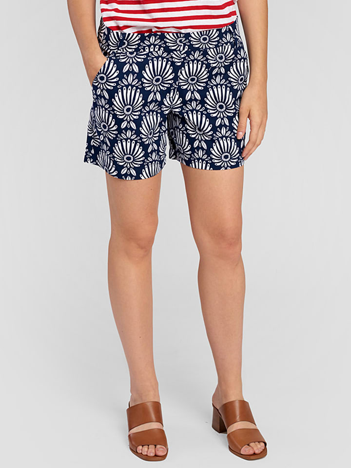 Hatley Shorts in Dunkelblau/ Weiß