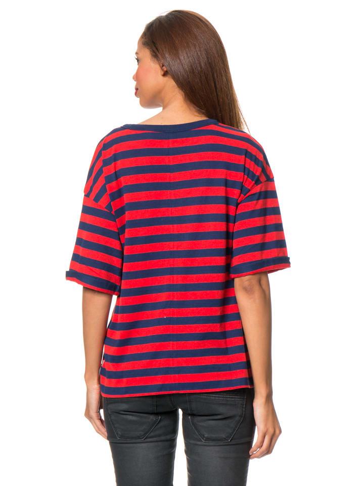 Levi´s Shirt in Rot/ Dunkelblau