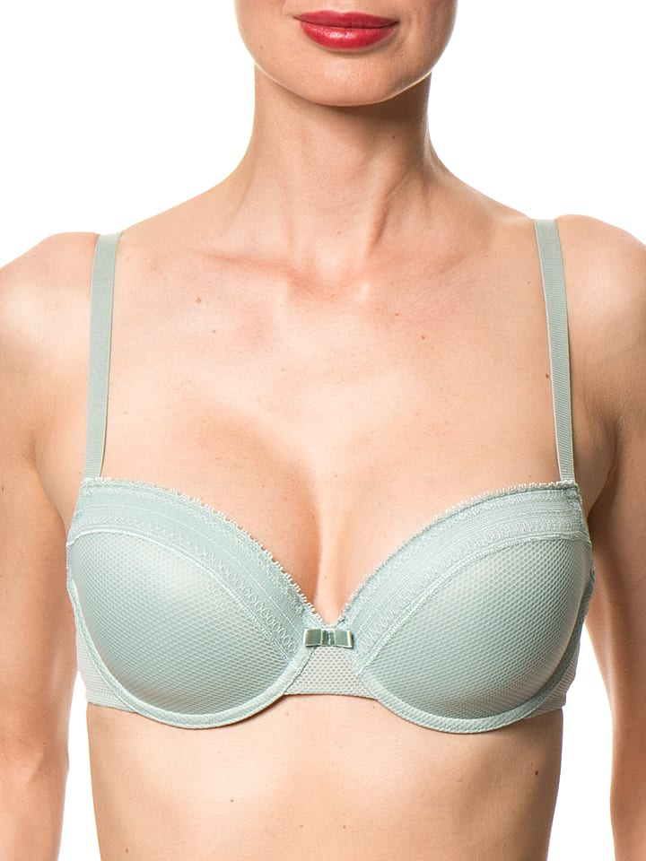 HUBER Dessous Schalen-BH in Mint