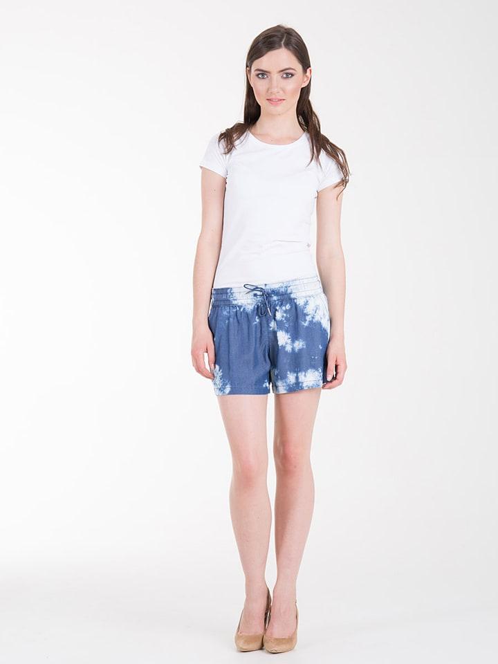 "BIG STAR Shorts ""Julietta"" in Blau/ Weiß"