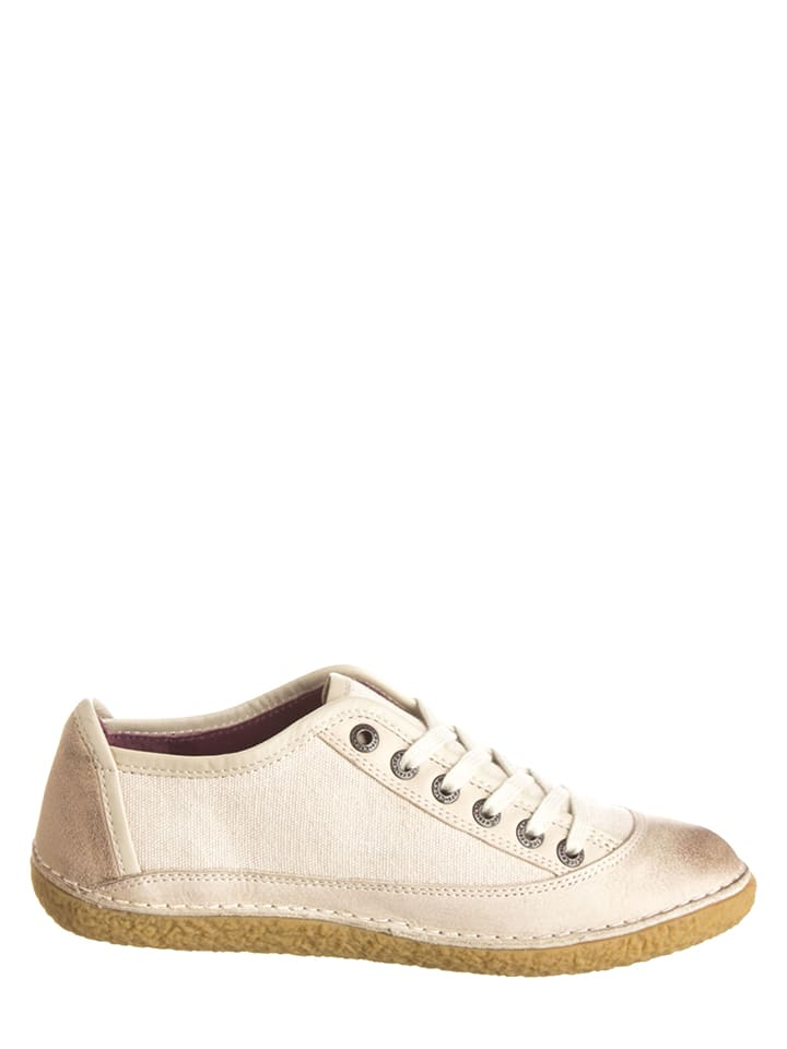 "Kickers Sneakers ""Hollyday"" in Creme"
