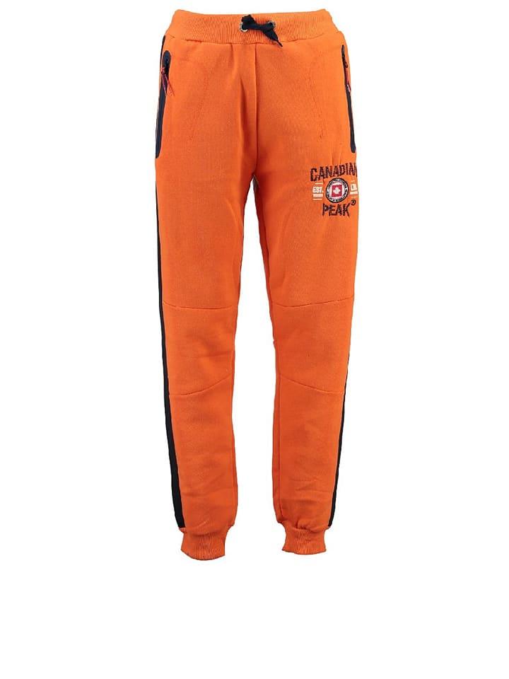 """Canadian Peak Sweathose """"Muntor"""" in Orange"""