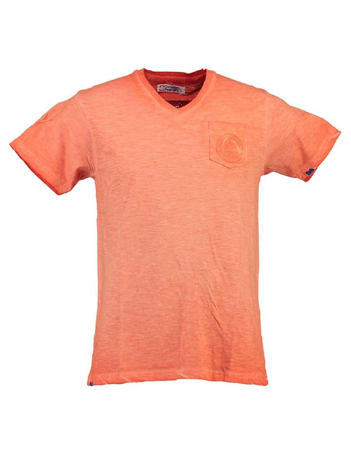 "Canadian Peak Shirt ""Jeasy"" in Koralle"