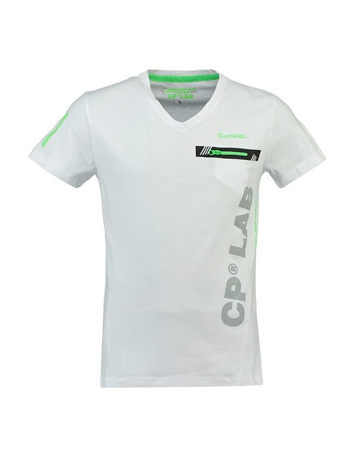 "Canadian Peak Shirt ""Japano"" in Weiß"