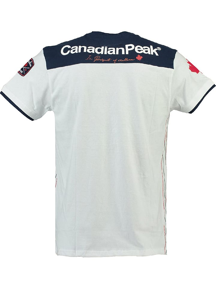 "Canadian Peak Shirt ""Janeiro"" in Weiß"