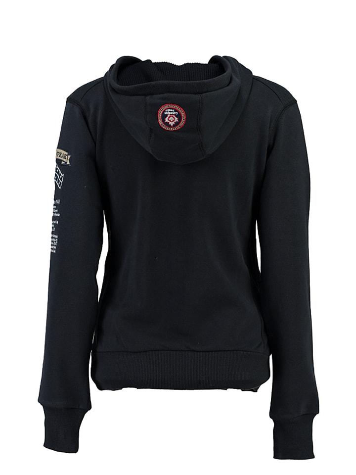 "Canadian Peak Sweatshirt ""Gyrelle"" in Dunkelblau"