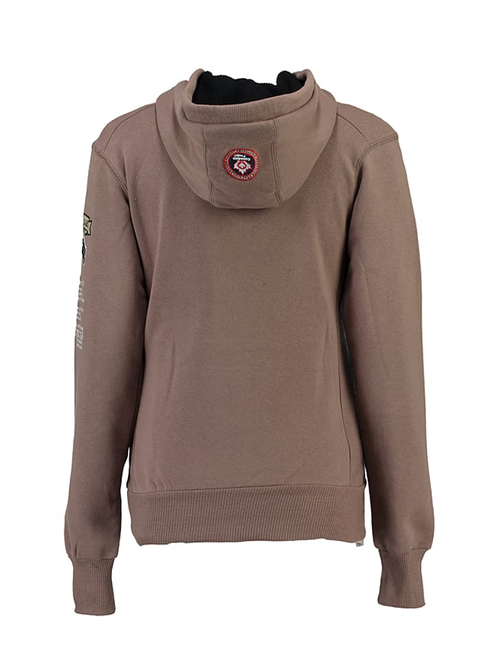 "Canadian Peak Sweatshirt ""Gyrelle"" in Sand"