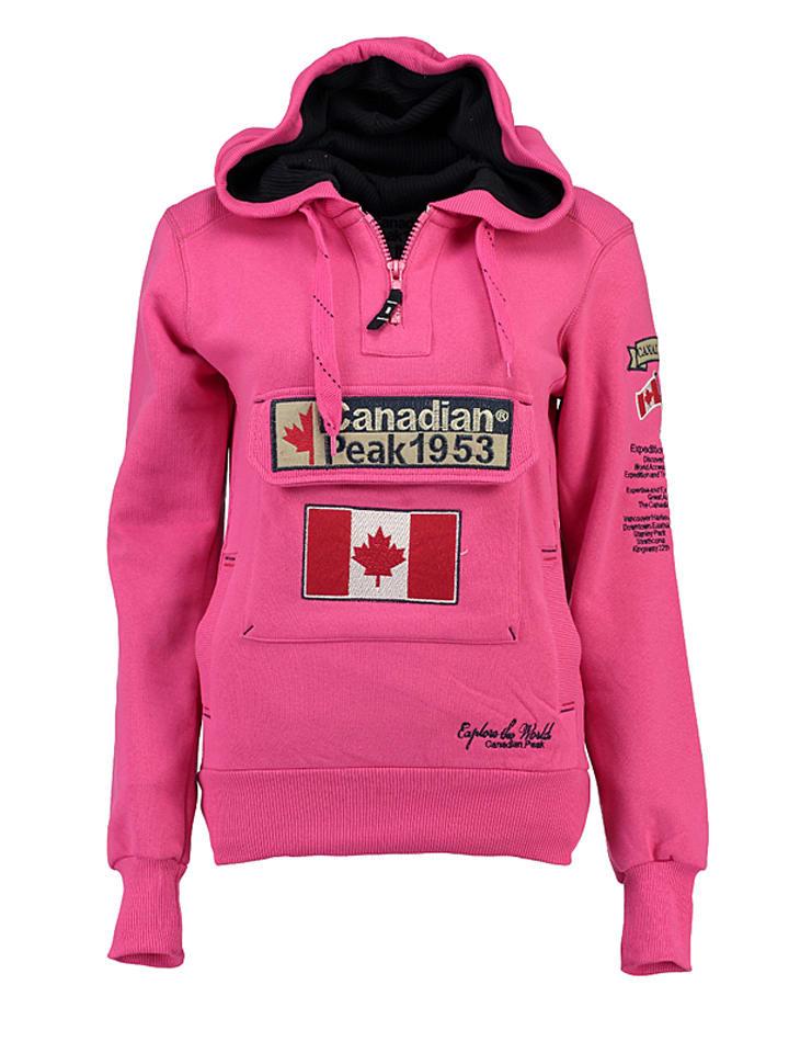 "Canadian Peak Trui ""Gyrelle"" roze"