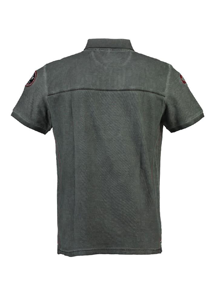 """Canadian Peak Poloshirt """"Kundai"""" in Schwarz"""