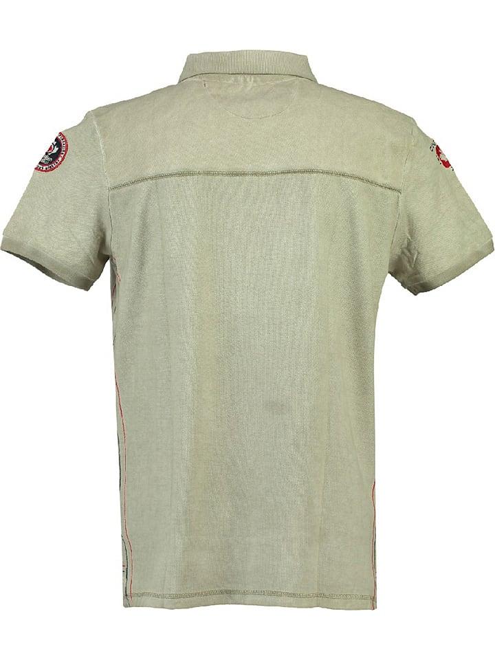 "Canadian Peak Poloshirt ""Kundai"" in Beige"