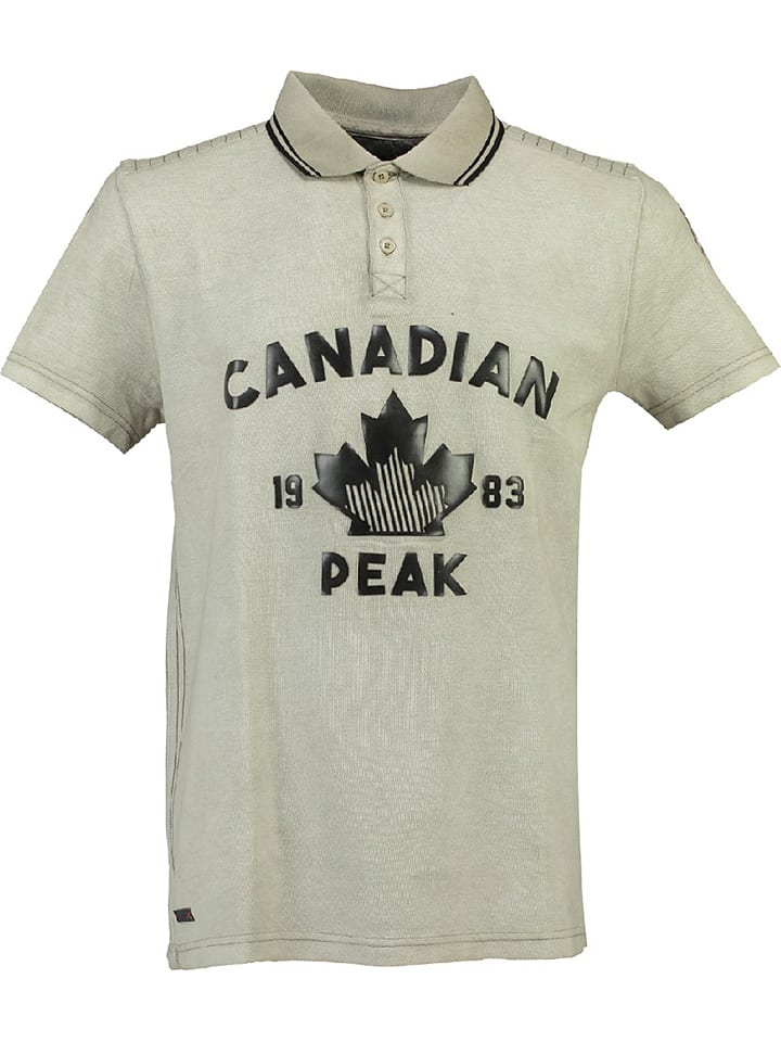 "Canadian Peak Poloshirt ""Kailand"" in Beige"