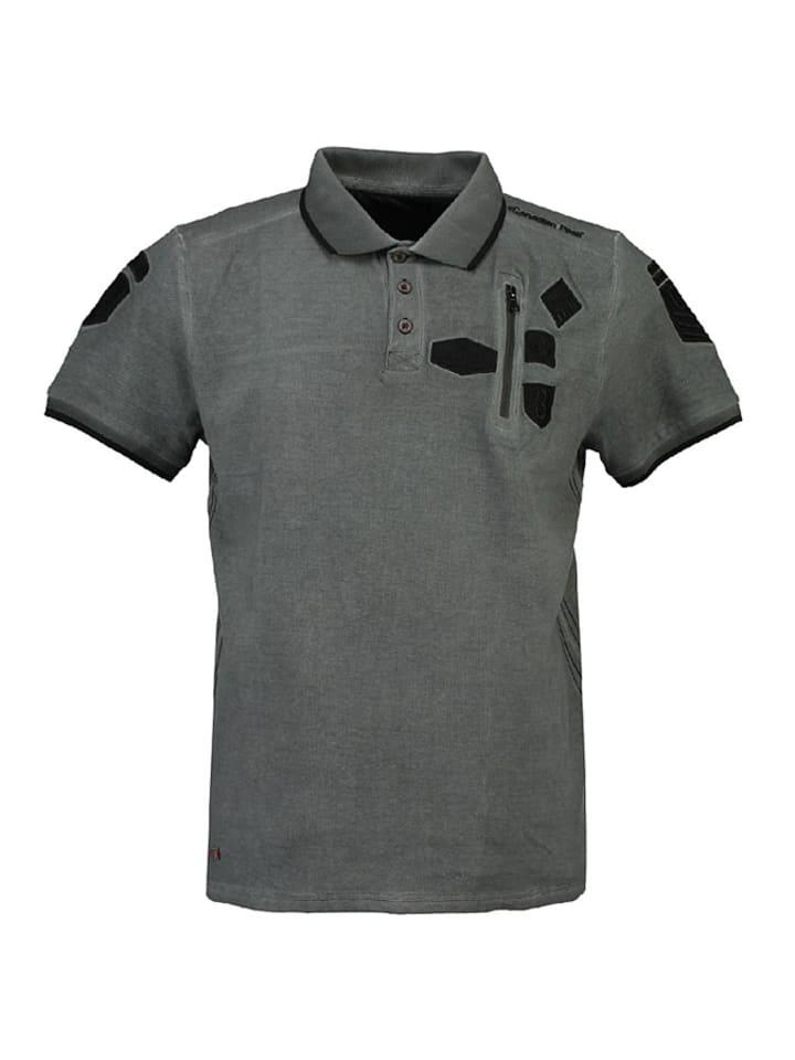 "Canadian Peak Poloshirt ""Kagger"" in Schwarz"