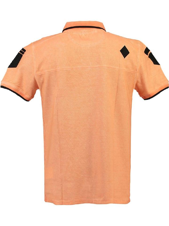 "Canadian Peak Poloshirt ""Kagger"" in Koralle"