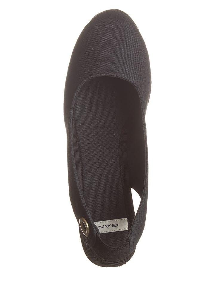 GANT Footwear Keilsandaletten in Schwarz