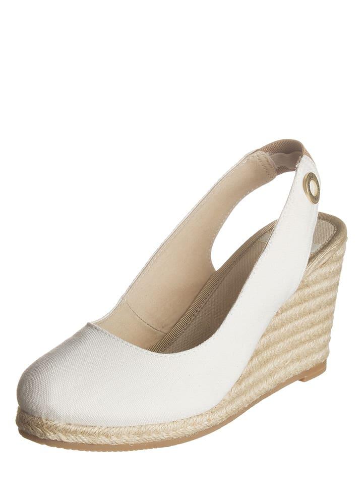 GANT Footwear Keilsandaletten in Creme