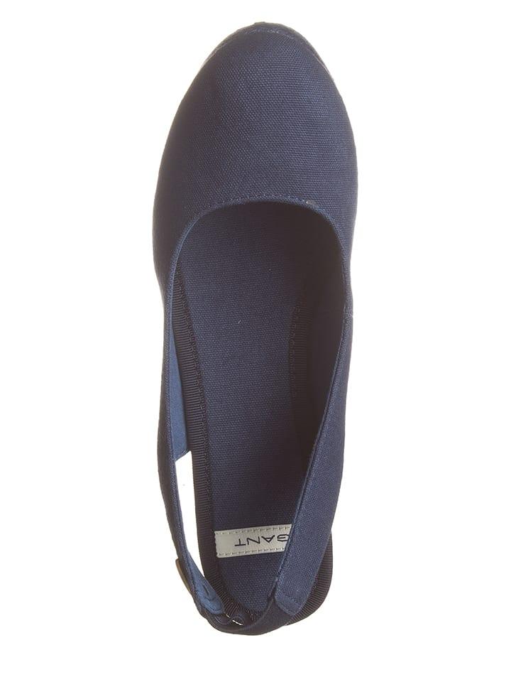 GANT Footwear Keilsandaletten in Dunkelblau