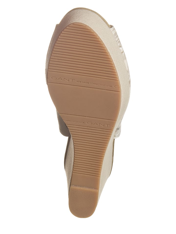 GANT Footwear Keilsandaletten in Beige