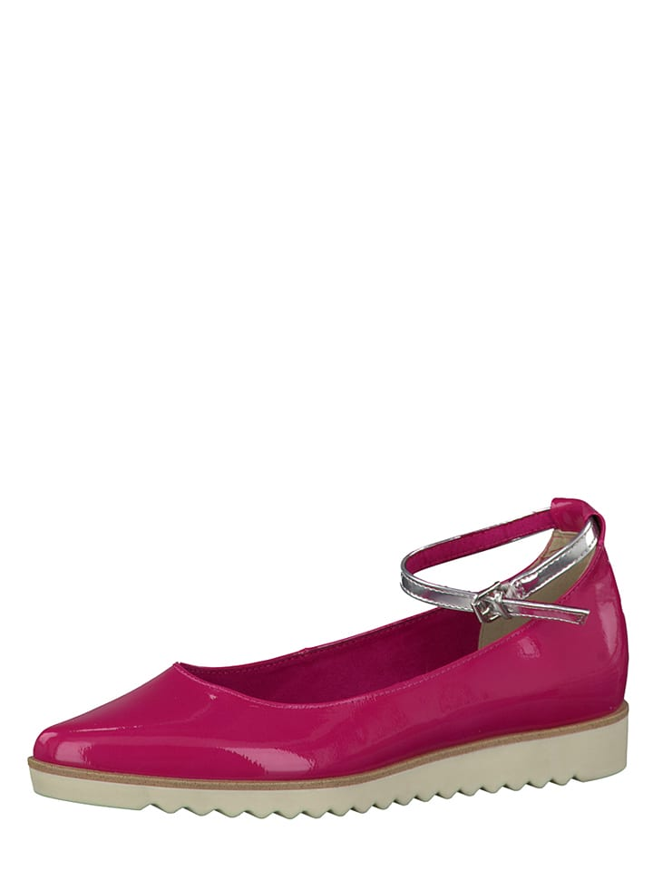Marco Tozzi Ballerinas in Pink