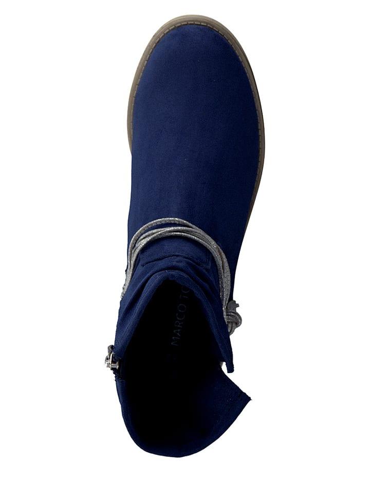 Marco Tozzi Boots in Dunkelblau