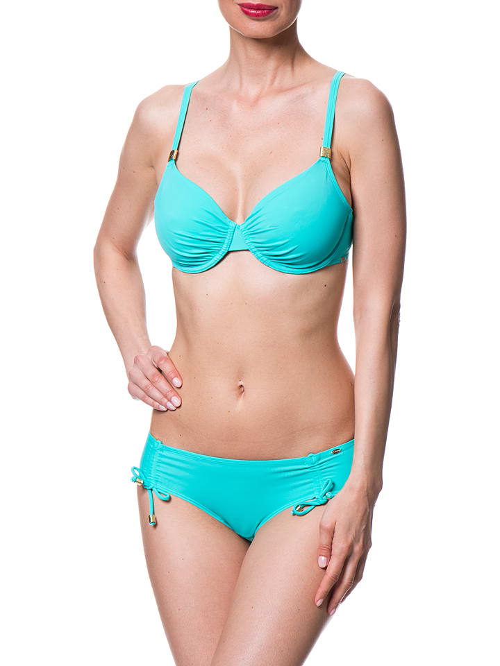 Skiny Bikini-Oberteil in Türkis