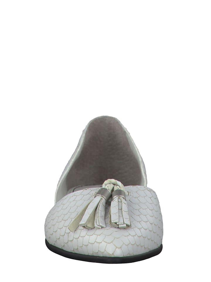 S. Oliver Ballerinas in Weiß