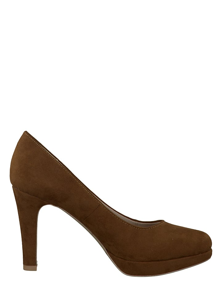 S. Oliver Pumps in Cognac