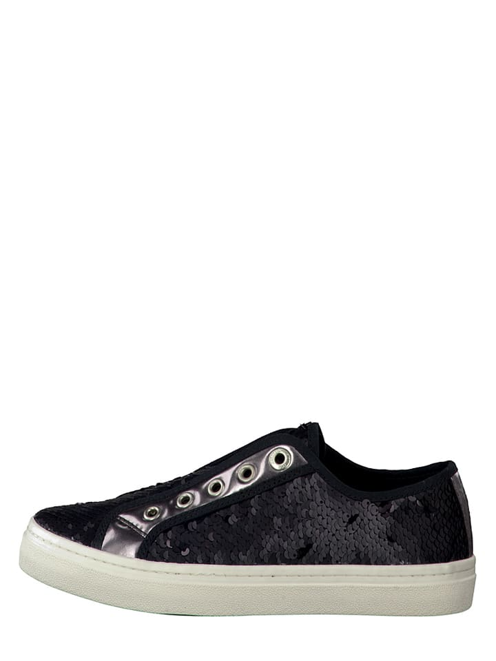 S. Oliver Sneakers in Schwarz