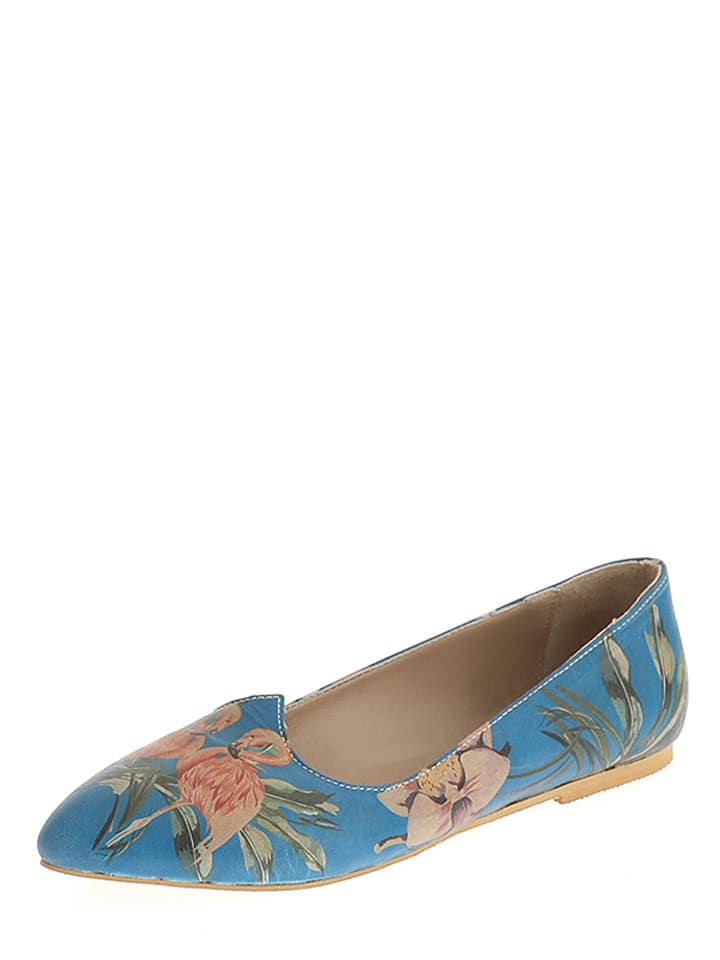 The Shoe Lab The Shoe Lab Ballerinas  in blau