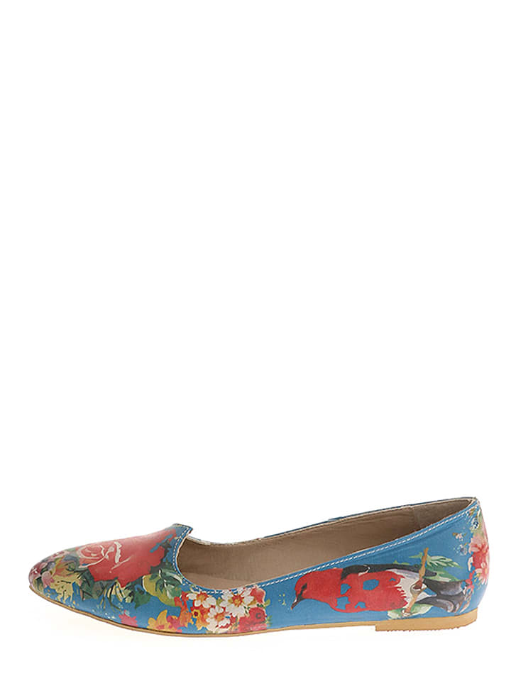 The Shoe Lab The Shoe Lab Ballerinas  in blau_pink