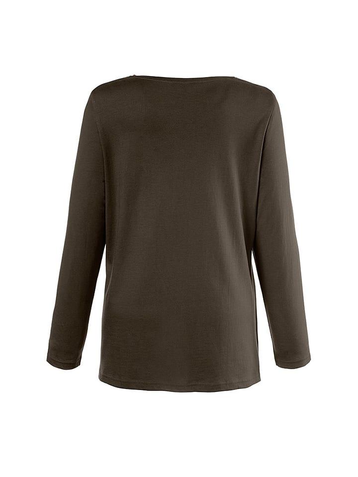 Ulla Popken Shirt in Khaki