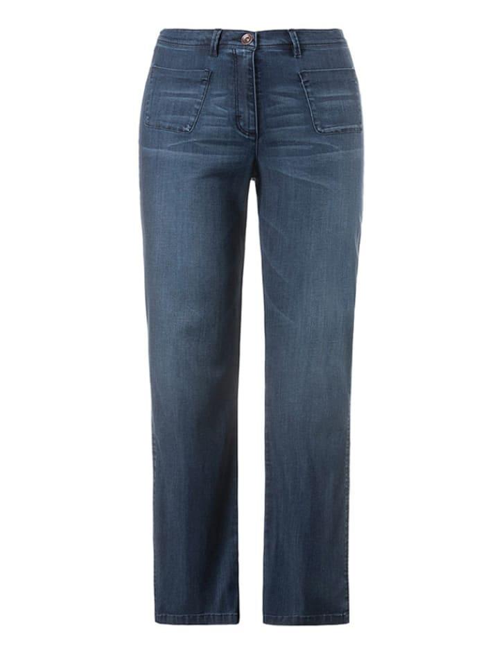 Ulla Popken Jeans in Blau