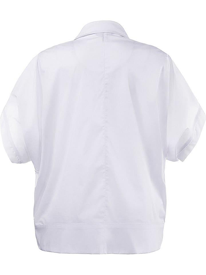 Ulla Popken Bluse in Weiß